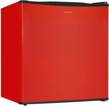 GGV-Exquisit exquisit Kühlschrank KB05-V-151F Mini-Kühlschrank, 45cm breit, 41L, rot