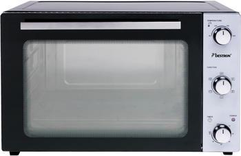 Bestron AOV45 Mini-Backofen 45 Liter Ober- und Unterhitze, Umluft (Heißluft) und Bratspieß