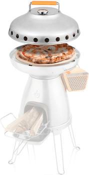 Biolite Holz Camping Kocher PizzaDome 006-6001123 Edelstahl, Keramik, Silikon