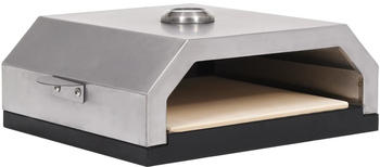 vidaXL Pizza Oven with Ceramic Stone for Gas Charcoal BBQ