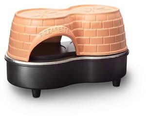 Emerio PO-122250 2 Pizza/Pizzen Schwarz - Terrakotta 800 W (PO-122250)
