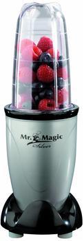 Mr. Magic silber-schwarz 4 tlg. 04389