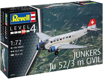 Revell Junkers Ju52/3m Civil (04975)