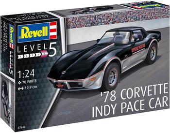 Revell '78 Corvette Indy Pace Car (07646)