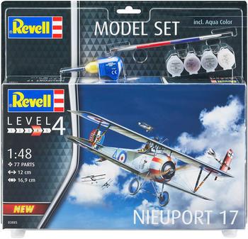 Revell Model Set Nieuport 17 (63885)