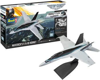 Revell Model Set - Maverick's F/A-18 Hornet 'Top Gun: Maverick' easy-click (64965)
