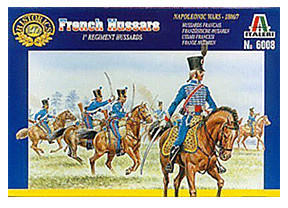 Italeri Französische Husaren - Napoleonische Kriege 1800-1815 (06008)