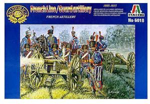 Italeri Französische Artillerie (6018)
