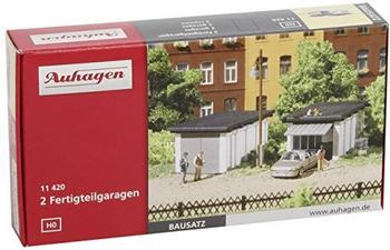 Auhagen 2 Fertigteilgaragen (11420)