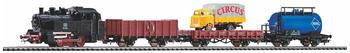 Piko Start-Set mit Bettung Güterzug (57113)