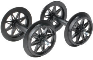 LGB Kunststoff Doppelspeichenradsatz, 2 Stück (L67303)