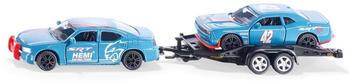 Siku Dodge Charger mit Dodge Challenger SRT Racing (2565)
