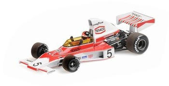 Minichamps MCLAREN FORD M23 – EMERSON FITTIPALDI – WORLD CHAMPION 1974 – WITH ENGINE (436740005)