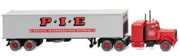 "Wiking Containersattelzug (Peterbilt) ""Pacific Intermount. Express"", 1:87 (052706)"