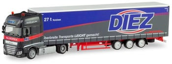"""Herpa DAF XF SSC Lowliner-Sattelzug """"Spedition Diez"""" (311274)"""