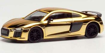 Herpa Audi R8 V10 Plus goldglänzend (038973)