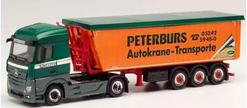 Herpa Mercedes-Benz Actros Streamspace 2.5 Stöffelliner-Sattelzug Peterburs (312011)