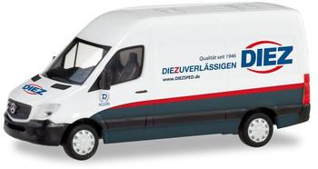 Herpa Mercedes-Benz Sprinter Kasten Spedition Diez (095105)