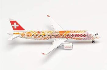 Herpa Swiss International Air Lines A220-300 Fête des Vignerons (533584)