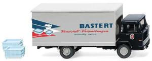 """Wiking Modellbau Wiking Koffer-Lkw (Magirus 100 D7) """"Bastert"""" (042501)"""