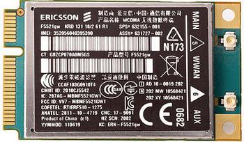 Hewlett-Packard HP hs2340 HSPA+ Mini Card (QC431AA)