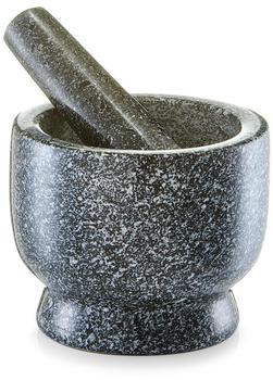 Zeller Mörser und Stößel-Set Granit anthrazit 24500