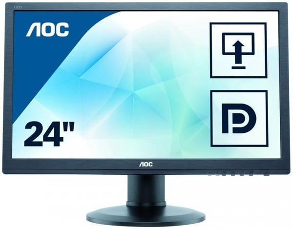 AOC e2460Pq/BK schwarz