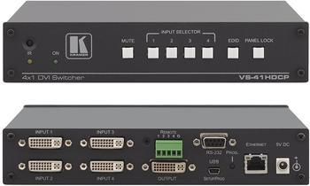 kramer-vs-41hdcp-4x1-hdcp-konformer-dvi-umschalter
