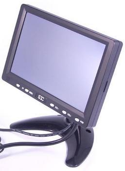 SDC 17,78cm (7) VGA TFT LCD Monitor für CARKFZAuto inkl. Einbaurahmen (24 Monate SOFORTTAUSCH im Servicefall !!!)