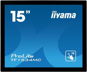 Iiyama ProLite TF1534MC-B5X 15Zoll 1024 x 768Pixel Multi-touch Schwarz Touchs...