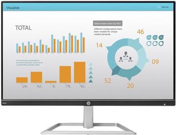 HP N240 23.8Zoll Full HD IPS Schwarz - Silber Computerbildschirm