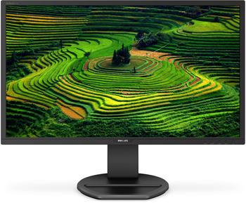 Philips 272B8QJEB/00 68,58cm, (27 Zoll) QHD LCD-Monitor (2560x1440 pixel, 5ms Reaktionszeit, DVI-Dual Link, VGA, HDMI 1.4, DisplayPort 1.2, USB 2.0, USB 3.0) schwarz