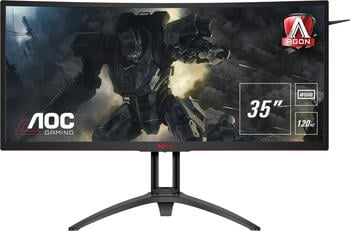 aoc-ag352ucg6-35zoll-ultra-wide-quad-hd-led-matt-flach-schwarz-rot-computerbildschirm