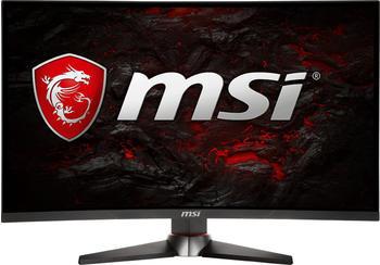 MSI MSI Optix mag27C Monitor-Gaming, 27FHD 144Hz, Schwarz/Rot