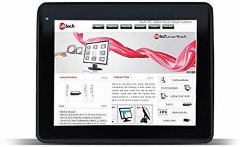 Faytech T10K - 24.6cm Touchmonitor schwarz, IP65 EEK A