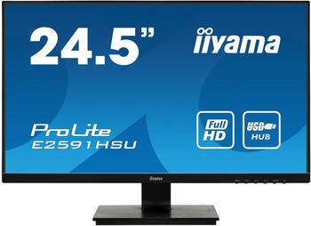 Iiyama ProLite E2591HSU-B1 schwarz