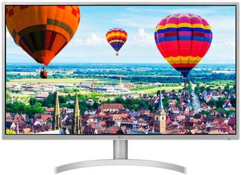 LG 32QK500-W LED display 81,3 cm (32 Zoll) WQHD Flach Grau