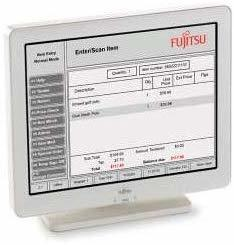 Fujitsu D22 Computerbildschirm 30,7 cm (12.1 Zoll) 800 x 600 Pixel Weiß