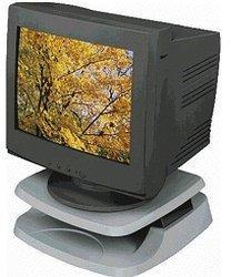 Fellowes TFT-/LCD-Monitorständer, hellgrau (91456)