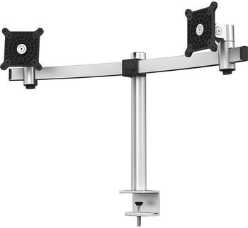 DURABLE Monitor Halterung für 2 Monitore, Tischklemme