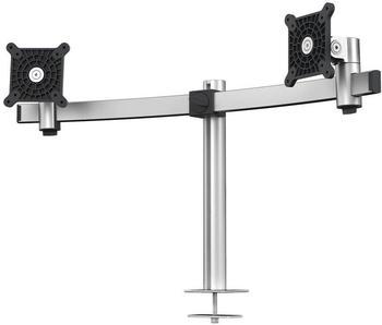 DURABLE Monitor Halterung für 2 Monitore, Tischdurchführung