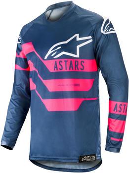 Alpinestars Racer S19 Flagship Jersey navy/pink