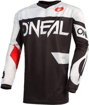 oneal-element-racewear-motocross-jersey-schwarz-weiss