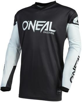 oneal-element-threat-jersey-schwarz-weiss