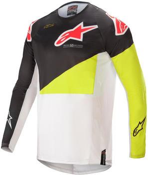 Alpinestars 2021 Techstar Factory Black/Yellow Fluo/Off White