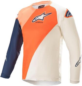 Alpinestars 2021 Youth Racer Blaze Orange/Dark Blue