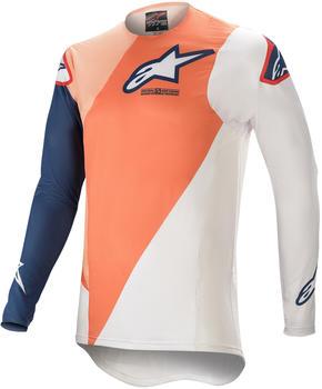 Alpinestars 2021 Supertech Blaze Orange/Dark Blue