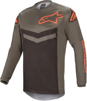 Alpinestars 2021 Fluid Speed Dark Gray/Orange