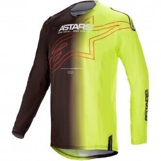 Alpinestars 2021 Techstar Phantom Black/Yellow Fluo