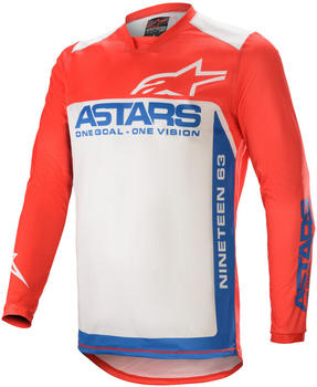 Alpinestars 2021 Racer Supermatic Bright Red/Blue/Off White